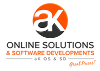 aK Online Solutions & Software Developments Logo